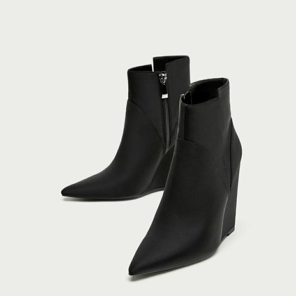 Zara Shoes   Zara Trafaluc Black